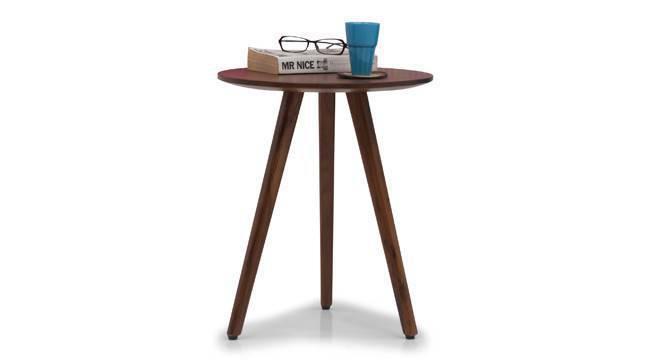 Robbins Teak Wood Side Table (Teak Finish) by Urban Ladder