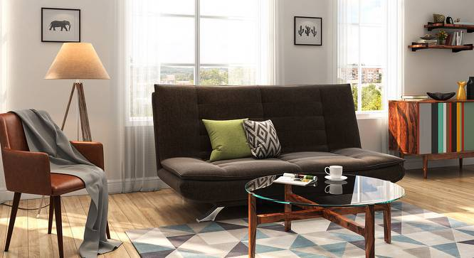 Edo Sofa Cum Bed - Edo Sofa Cum Bed Brown