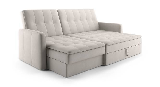 Peckham Sectional Sofa Cum Bed with Ottoman - Peckham Sectional Sofa Cum Bed With Ottoman