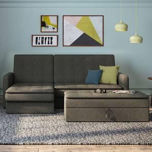 Peckham sectional sofa cum bed with ottoman 00 lp