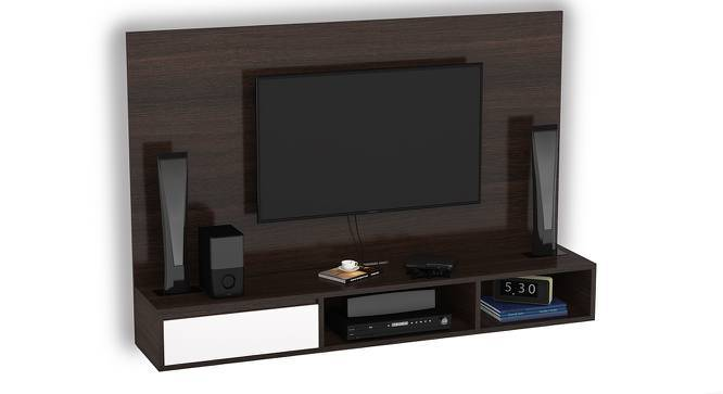 "Iwaki Swivel 59"" TV Unit (Dark Walnut Finish) by Urban Ladder"
