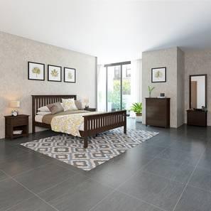 Athens Evelyn Master Bedroom Set (Queen Bed Size, Dark Walnut Finish)