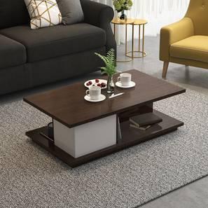 Webber Storage Coffee Table (White)