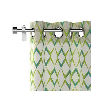 "Dresden Curtains - Set Of 2 (Green, Door Curtain Type, 52""x84"" Curtain Size)"