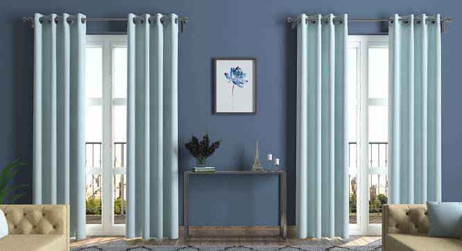 Ethos Curtains Skylight Blue