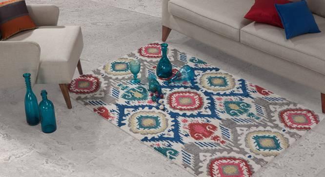 "Kalosi Hand Tufted Carpet (48"" x 72"" Carpet Size) by Urban Ladder"