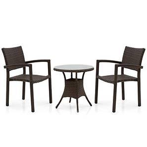 Calabah Patio Table With Chairs Lp