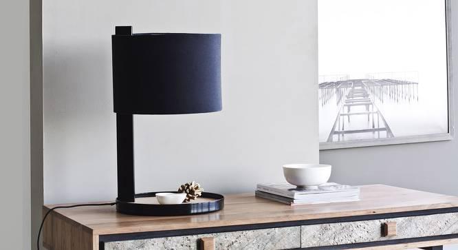 Bo Bedside Lamp (Black) by Urban Ladder