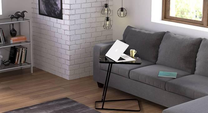 Jony Laptop Table (Black Finish) by Urban Ladder