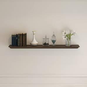 Eleanor Wall Shelf (Small Size, Vintage Brown Oak Finish)