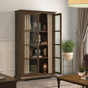 Eleanor Armoire (Vintage Brown Oak Finish,  Natural Brown)