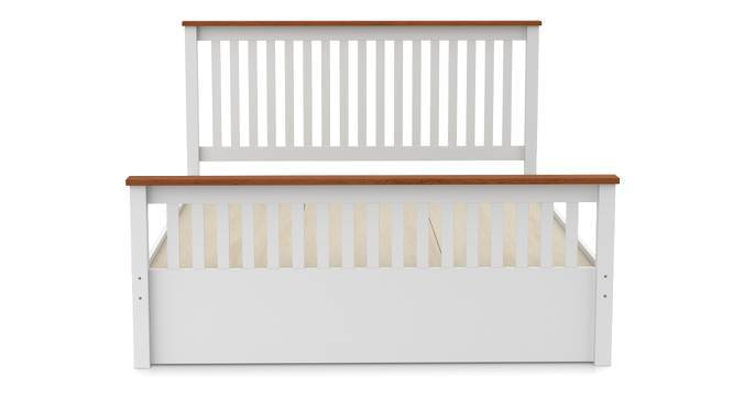 Athens - Evelyn Storage Essential Bedroom Set (Queen Bed Size, White Finish) by Urban Ladder