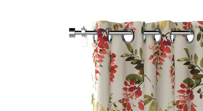 "Carmine Cassia Curtains - Set of 2 (Door Curtain Type, 52""x84"" Curtain Size) by Urban Ladder"