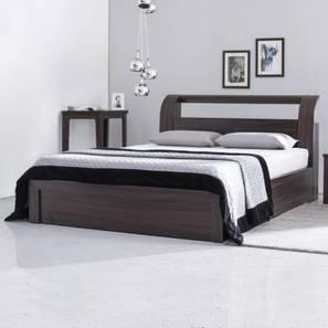 Sutherland Storage Bed (King Bed Size, Dark Oak Finish)