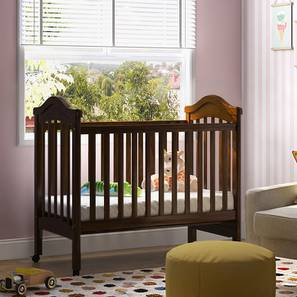 Piccolo Crib (Dark Walnut Finish, Without Storage)
