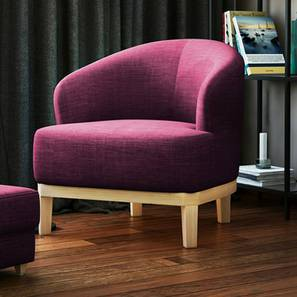 Ursula Lounge Chair (Purple)