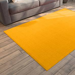 "Solway Dhurrie (Yellow, 36"" x 60"" Carpet Size) by Urban Ladder"