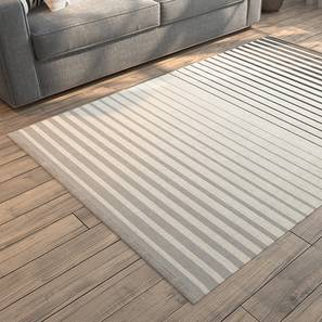 "Grevy Dhurrie (36"" x 60"" Carpet Size, Monochrome) by Urban Ladder"