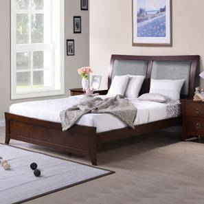 Packard Bedroom Set (King Bed Size, With Mattress Configuration, Without Bedside Tables) by Urban Ladder