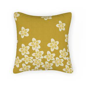 "Frangipani Cushion Cover - Set of 2 (16"" X 16"" Cushion Size, Petal Bliss Pattern)"