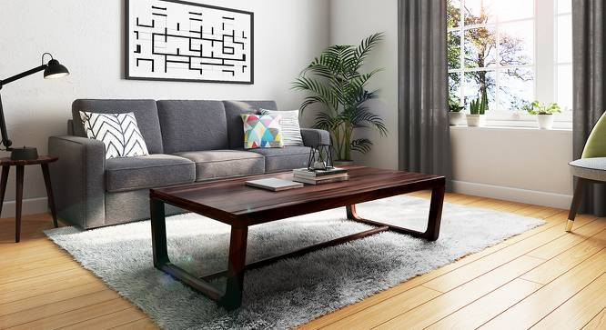 Botwin Coffee Table (Mahogany Finish) by Urban Ladder