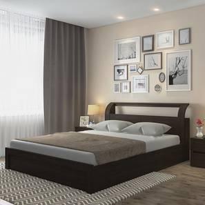 Sutherland Storage Bed (Queen Bed Size, Dark Walnut Finish)