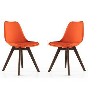 Pashe Dining Chairs - Set of 2 (Rust)