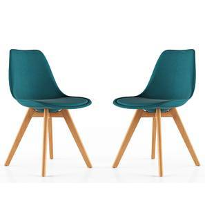 Pashe Dining Chairs - Set of 2 (Teal)