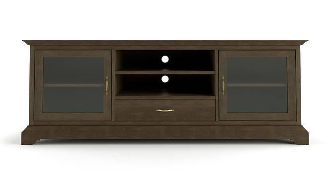 "Eleanor 66"" TV Cabinet (Vintage Brown Oak Finish) by Urban Ladder"
