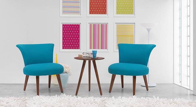 Robbins Lounge Set (Aqua) by Urban Ladder