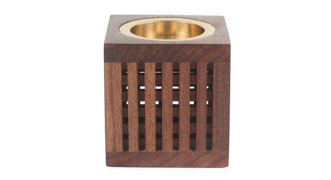 Mrig Tealight Candle Holder (Brass, Small Size) by Urban Ladder