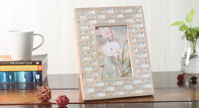 Kohi Photo Frame (White Wash) by Urban Ladder