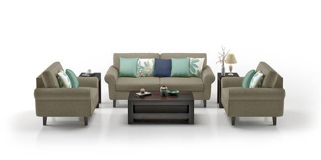 Oxford Sofa (Mist Brown) (Mist, Fabric Sofa Material, Regular Sofa Size, Regular Sofa Type)