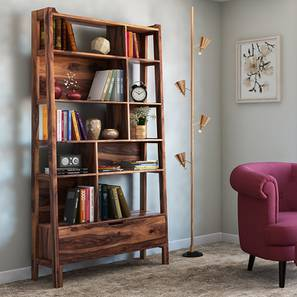 Alberto Bookshelf (Teak Finish)