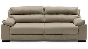 Thiene Sofa (Cappuccino Italian Leather)
