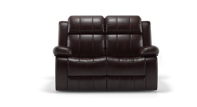 Robert Half Leather Recliner Two Seater