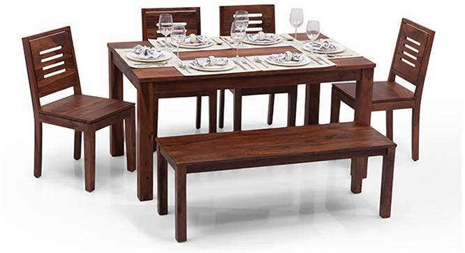Arabia Xl Capra 6 Seater Dining Setswith Bench Urban