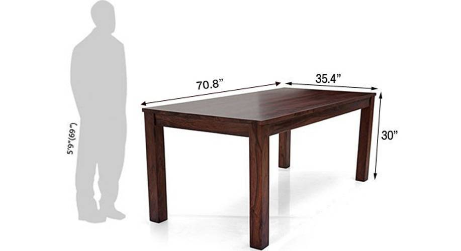 Arabia xl oribi dining table sets with bench teak brown 5