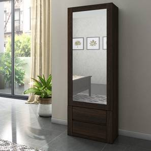 Barrie Dressing Table With Storage (Dark Oak Finish)