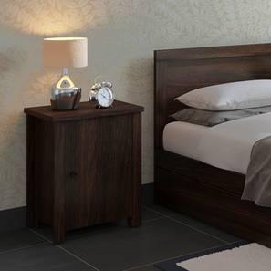 Bedside tables buy bedside tables night stand online for best covelo bedside table dark walnut finish by urban ladder watchthetrailerfo