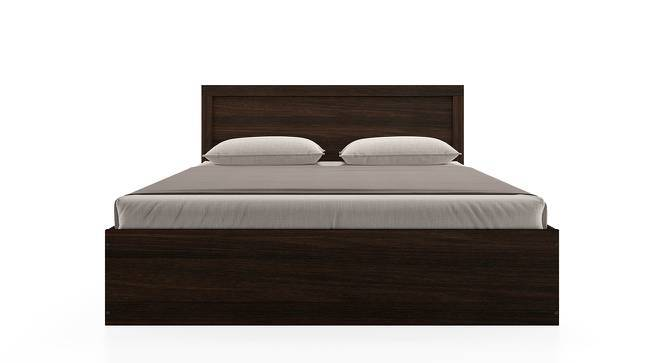 Covelo Storage Bed (Queen Bed Size, Dark Walnut Finish, Drawer & Box Storage Type) by Urban Ladder
