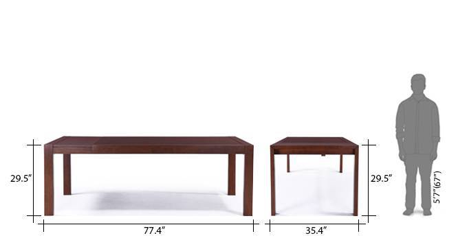 Vanalen 6 to 8 Extendable Persica 8 Seater Dining Table  : VanalenExtendable8SeaterBeige8 from www.urbanladder.com size 666 x 363 jpeg 12kB