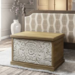Annika Blanket Box (Natural Finish)