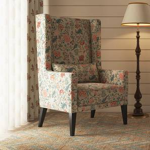 Morgen Wing Chair (Calico Print)