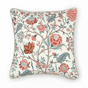 "Calico Cushion Cover - Set Of 2 (16"" X 16"" Cushion Size, Floral Retreat Pattern) by Urban Ladder"