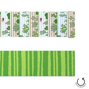 "Succulent Sunshine Table Runner (Green, 12"" x 70"" Table Linen Size)"