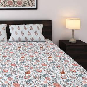 Calico BedSheet Set (King Size, Floral Retreat  Pattern) by Urban Ladder