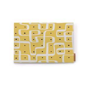 "Kolam Konnect Table Mats - Set of 6 (12"" x 18"" Table Linen Size, Endless Maze Pattern)"