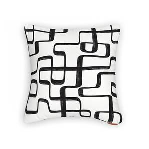 "Kolam Konnect Cushion Cover - Set Of 2 (16"" X 16"" Cushion Size, Totally Twisted Pattern) by Urban Ladder"