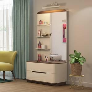Baltoro High Gloss Dresser (White Finish) by Urban Ladder